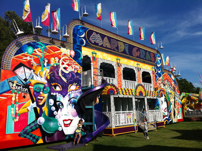 Mardi Gras Fun House